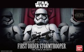 1/12 FIRST ORDER STORMTROOPER MODEL KIT BANPRESTO