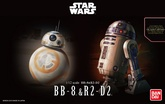 1/12 BB-8 & R2-D2MODEL KIT BANPRESTO