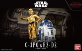 1/12 C-3PO & R2-D2 MODEL KIT BANPRESTO