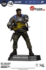 DEL WALKER GEARS OF WAR FIGURA MC FARLANE TOYS