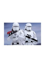 FIRST ORDER SNOWTROOPER & FLAMETROOPER PACK 2 FIG 18 CM STAR WARS