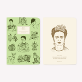 Libretas x 2 12x17 Pocket MAKERS Frida Kahlo