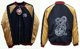 CAMPERA ABRIGO DRAGON BALL SUPER BORDADA TALLE S