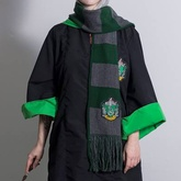 BUFANDA RAYADA HARRY POTTER SLYTHERIN