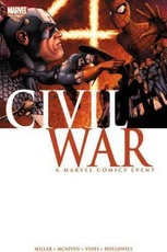 CIVIL WAR A MARVEL COMIC EVENT (ENGLISH)