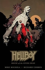 HELLBOY HOUSE OF THE LIVING DEAD (ENGLISH)