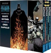 BOXED SET X3 BATMAN BY SCOTT SNYDER & GREG CAPULLO (ENGLISH)