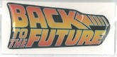 CALCO BACK TO THE FUTURE LOGO 3D