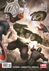 AVENGERS MARVEL NOW 10