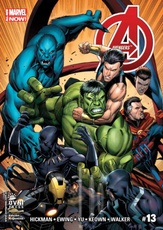 AVENGERS MARVEL NOW 13
