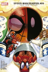 SPIDERMAN + DEADPOOL 10 (R)