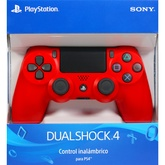 JOYSTICK PS4 ROJO