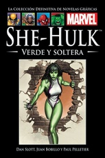COLECCION DEFINITIVA MARVEL 21: SHE-HULK VERDE Y SOLTERA