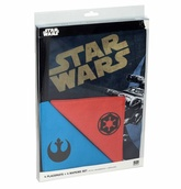 STAR WARS SET 4 SALVAMANTELES Y 4 SERVILLETAS STAR WARS