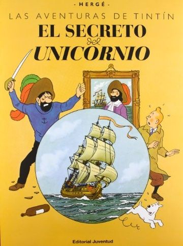 Tintin Gran Formato El Secreto Del Unicornio