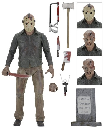 JASON FRIDAY THE 13TH THE FINAL CHAPTER FIGURA NECA REEL TOYS
