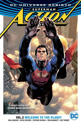 ACTION COMICS VOL. 02 (REBIRTH) (Ingles)