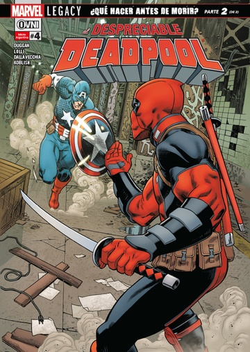 DESPRECIABLE DEADPOOL (LEGACY) 04