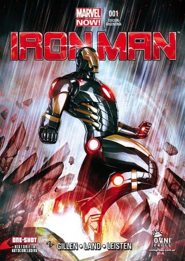 IRON MAN MARVEL NOW 01