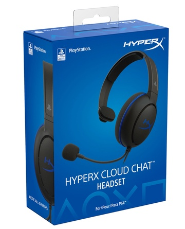 HEADSET CLOUD CHAT HYPERX PS4