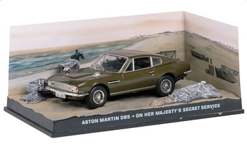 JAMES BOND 04: ASTON MARTIN DBS ON HER MAJESTY'S SECRET SERVICE