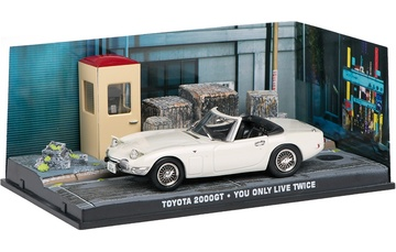 JAMES BOND 07: TOYOTA 2000GT YOU ONLY LIVE TWICE