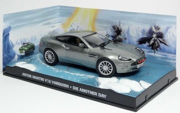 JAMES BOND 08: ASTON MARTIN V12 VANQUISH DIE ANOTHER DAY